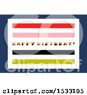 Clipart Of A Retro Happy Birthday Design Royalty Free Vector Illustration