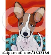 Poster, Art Print Of Painting Of A Dog