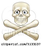 Poster, Art Print Of Skull Over Crossbones