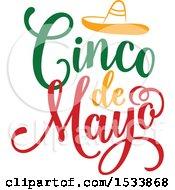 Cindo De Mayo Design With A Sombrero