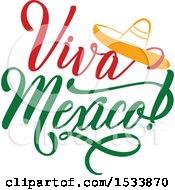 Cindo De Mayo Viva Mexico Design With A Sombrero