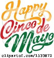 Happy Cindo De Mayo Design