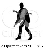 Clipart Of A Silhouetted Father Lifting His Son As If He Can Fly With A Shadow On A White Background Royalty Free Vector Illustration