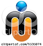 Letter M U Design