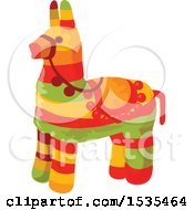Clipart Of A Cinco De Mayo Pinata Royalty Free Vector Illustration by Vector Tradition SM