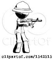 Ink Explorer Ranger Man Shooting Automatic Assault Weapon