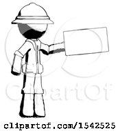 Ink Explorer Ranger Man Holding Large Envelope