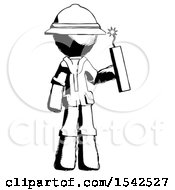 Ink Explorer Ranger Man Holding Dynamite With Fuse Lit