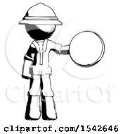 Ink Explorer Ranger Man Holding A Large Compass