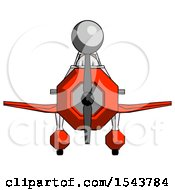 Gray Design Mascot Woman In Geebee Stunt Plane Front View