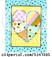 Patchwork Heart In A Frame