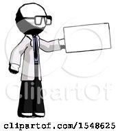 Ink Doctor Scientist Man Holding Large Envelope