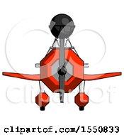 Black Doctor Scientist Man In Geebee Stunt Plane Front View