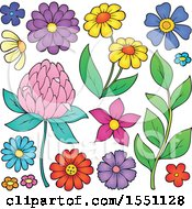 Poster, Art Print Of Spring Time Flowers