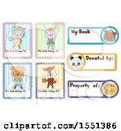Animal Book Plate Designs
