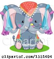 Cute Festival Elephant