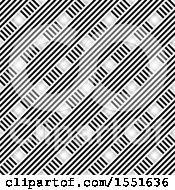 Clipart Of A Background Of Striped Lines Royalty Free Vector Illustration