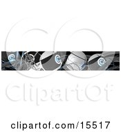 Abstract Background Of Cables Clipart Illustration Image by 3poD