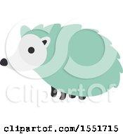 Cute Green Hedgehog