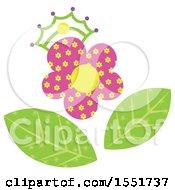Poster, Art Print Of Crowned Flower