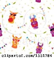 Funky Llama Pattern