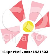Clipart Of A Sun Royalty Free Vector Illustration by Cherie Reve