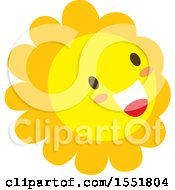 Poster, Art Print Of Happy Sun Or Flower
