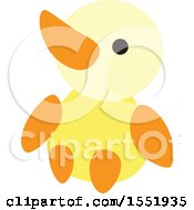 Clipart Of A Baby Bird Royalty Free Vector Illustration