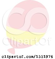 Clipart Of A Balloon Royalty Free Vector Illustration by Cherie Reve