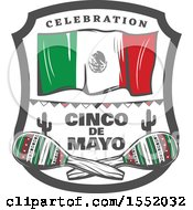 Poster, Art Print Of Retro Styled Cinco De Mayo Design