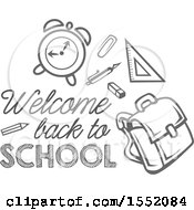 Poster, Art Print Of Welcome Back To School Design