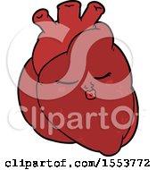 Cartoon Heart by lineartestpilot
