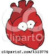 Cartoon Curious Heart by lineartestpilot