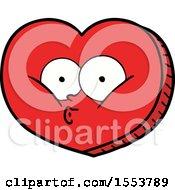 Poster, Art Print Of Cartoon Love Heart