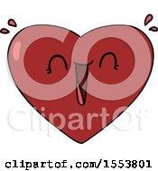 Poster, Art Print Of Cartoon Happy Heart