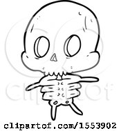 Poster, Art Print Of Cartoon Skeleton