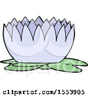Poster, Art Print Of Cartoon Waterlily