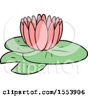 Poster, Art Print Of Cartoon Water Lily