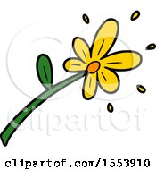 Poster, Art Print Of Cartoon Flower