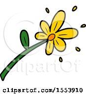 Poster, Art Print Of Cartoon Flower