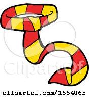 Cartoon Striped Tie