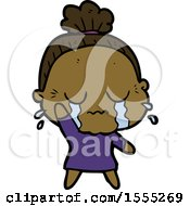 April 21st, 2018: Cartoon Crying Old Lady by lineartestpilot
