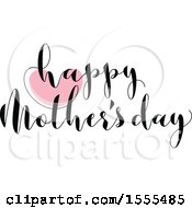 Happy Mothers Day Greeting With A Heart