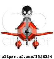 White Thief Man In Geebee Stunt Plane Front View