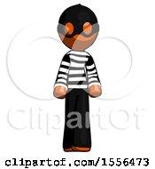 Poster, Art Print Of Orange Thief Man Walking Front View