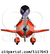 Purple Thief Man In Geebee Stunt Plane Front View