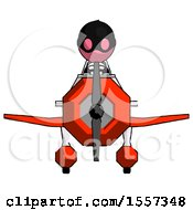 Pink Thief Man In Geebee Stunt Plane Front View