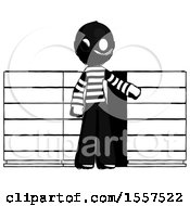 Ink Thief Man With Server Racks In Front Of Two Networked Systems
