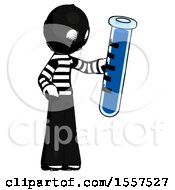 Ink Thief Man Holding Large Test Tube