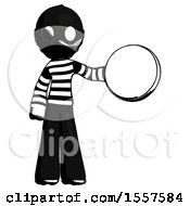 Ink Thief Man Holding A Large Compass